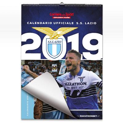 Lazio Calendario.Calendario Ufficiale Ss Lazio 2019